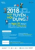 Ngày hội tuyển dụng cho các doanh nghiệp Hàn Quốc 2018