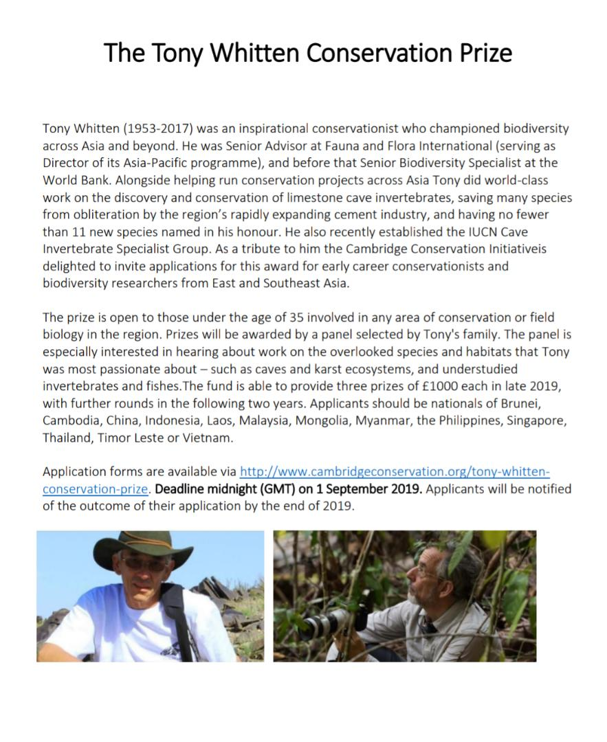 The_Tony_Whitten_Conservation_Prize_1