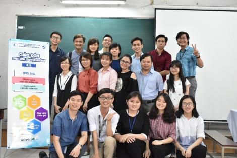 Sự kiện Chào đón SV chuyên ngành K15 của Bộ môn SLH&CNSHDV