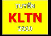 TUYỂN SV THỰC HIỆN KLTN ĐỢT 2 - 2019