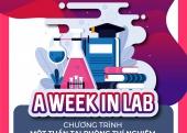 Chương trình một tuần tại phòng thí nghiệm 2019