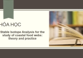 Course: Stable Isotope Analysis for the study of coastal food webs