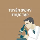 Phòng Xét nghiệm Vi rút Arbo thuộc Viện Pasteur TP.HCM tuyển sinh viên thực tập