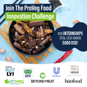 ProVeg Plant-Based Food Innovation Campaign