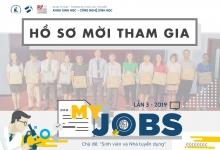 Hồ sơ mời tham gia chương trình My Jobs lần 3 - 2019