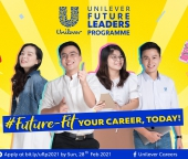 UNILEVER FUTURE LEADERS PROGRAM 2021 (UFLP 2021)