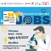 CHƯƠNG TRÌNH TỌA ĐÀM NGHỀ CỦA TÔI – MY JOBS (06/05/2017)