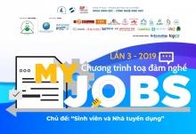 Tổng kết Chương trình tọa đàm nghề My Jobs lần 3 - 2019