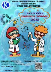 Tổ chức chương trình Stem Cell Summer 2018