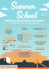 Invitation for summer school in immunology and microbial pathogenesis