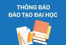 THÔNG BÁO V/v Bảo vệ khóa luận và thực tập tốt nghiệp – NH: 2016-2017