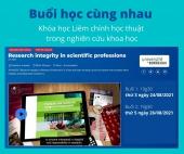Đăng ký tham gia học cùng nhau - Khóa học Liêm chính học thuật trong nghiên cứu khoa học