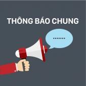 THÔNG BÁO V/v lập danh sách đề nghị khen thưởng sinh viên xuất sắc HK2/2020-2021