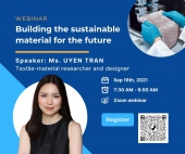 Webinar Building the sustainable material for the future