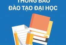 Thông báo v/v SV đánh giá môn học - giảng viên HK2/2019-2020