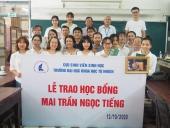 Tổng kết Lễ trao học bổng Mai Trần Ngọc Tiếng lần thứ XI – Năm 2020