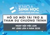 THƯ MỜI DOANH NGHIỆP THAM DỰ VÀ TÀI TRỢ CHO NGÀY HỘI VIỆC LÀM MY JOBS LẦN 4 NĂM 2020