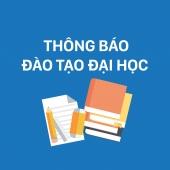 THÔNG BÁO  (V/v dời lịch thi HK1/16-17 môn Ứng dụng thống kê trong nghiên cứu sinh học)
