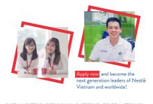 Nestlé Management Trainee 2019 – Quản Trị Viên Tập Sự Nestlé 2019