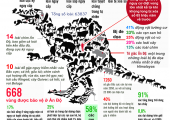 [Infographic] Thế giới biến mất
